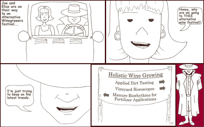 Comic #10, Holistic Wine Growing